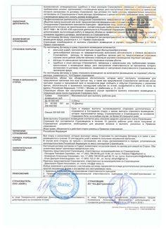 Страхование ответственности ООО «ВАЙС» (стр. 2)
